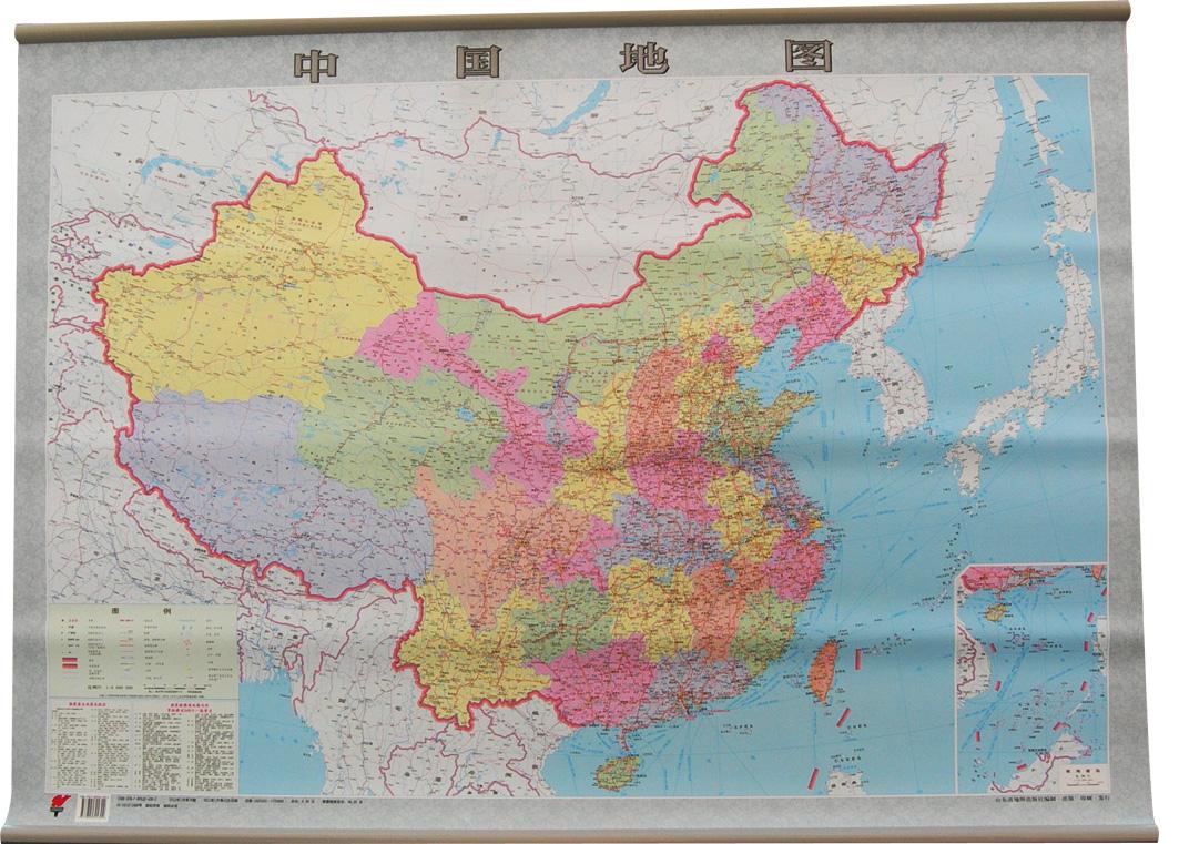 挂式中国地图_放大镜,地球仪,地图_会议设备及展示